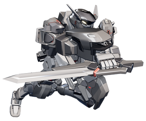 AM-X403 Maxwell Action Pose