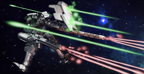 AM-X403 Maxwell Space Type in Combat