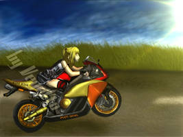 Vegetto: Misa in motorcycle - Death Note by vegetto-vegito