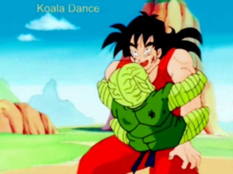 DBZ Yamcha -Koala Dance by vegetto-vegito