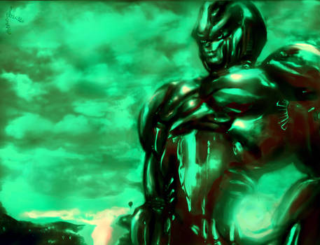 Vegetto: Alien cyborg DBZ