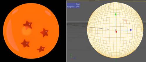 Dragon ball 3d model v1: Anime style