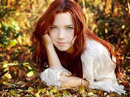 Autumn's blue eyes by leelloor