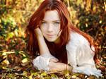 Autumn's blue eyes