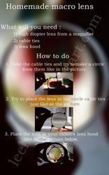 Homemade macro lens