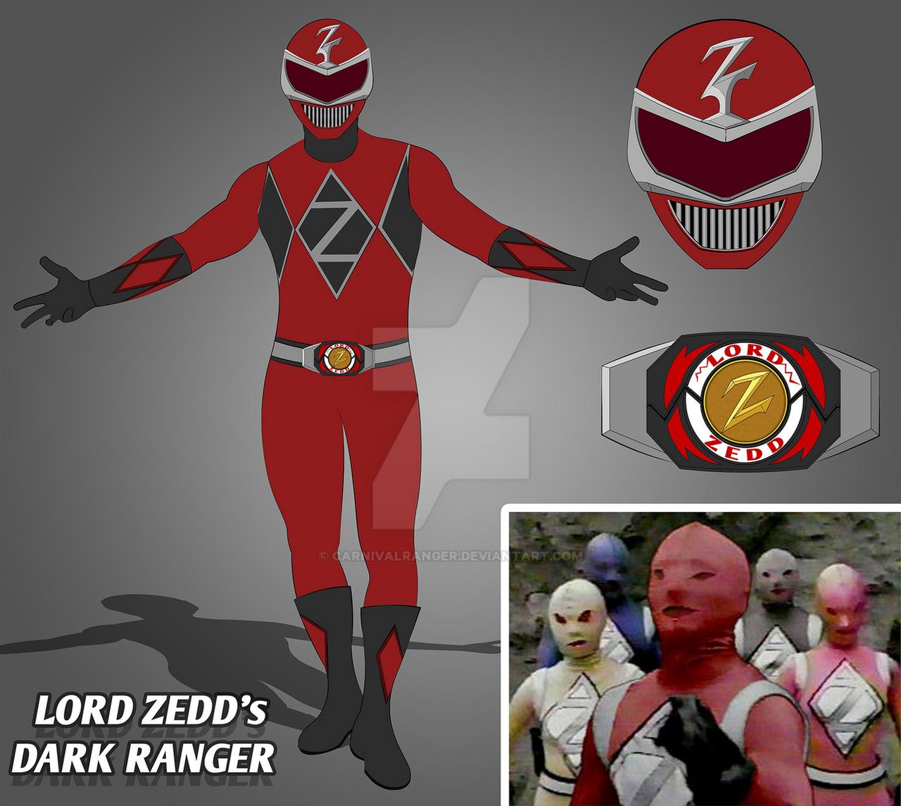 Mighty Morphin Power Rangers Wallpaper: Lord Zedd's Dark Ranger By CarnivalRanger On DeviantArt