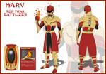(Fan Art) Hyperforce Marv Red Titan Battlizer