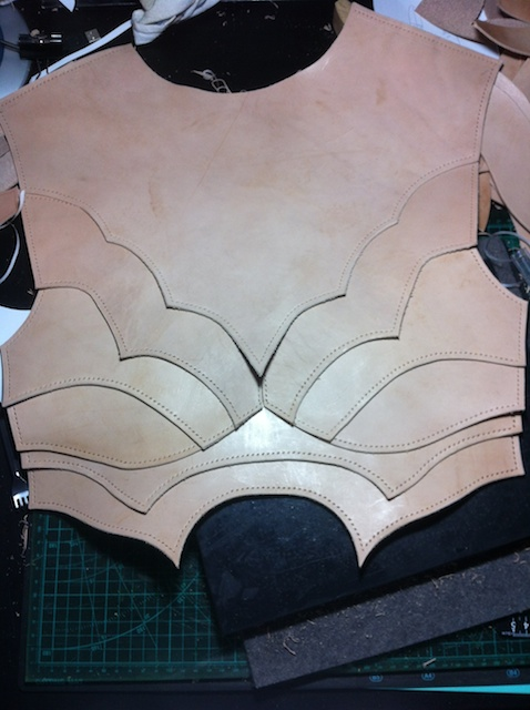 Nightingale Armor Project Step 3 Back by battosai1976 on deviantART