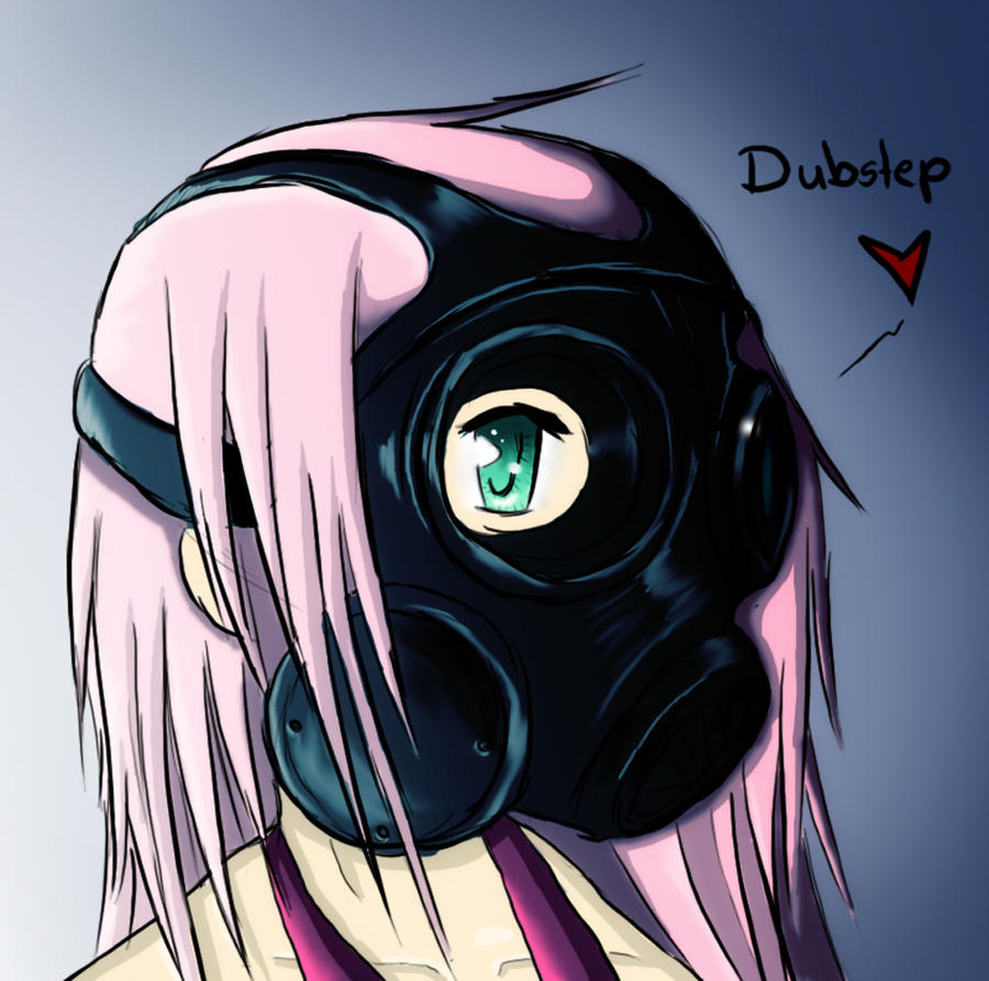 Dubstep Anime Girl Wallpaper
