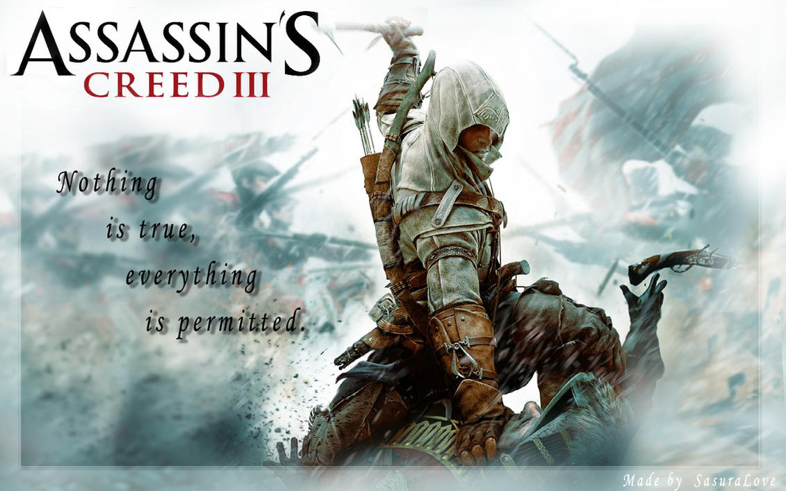 Assassins Creed 3 Wallpaper By SaSuRaLoVe