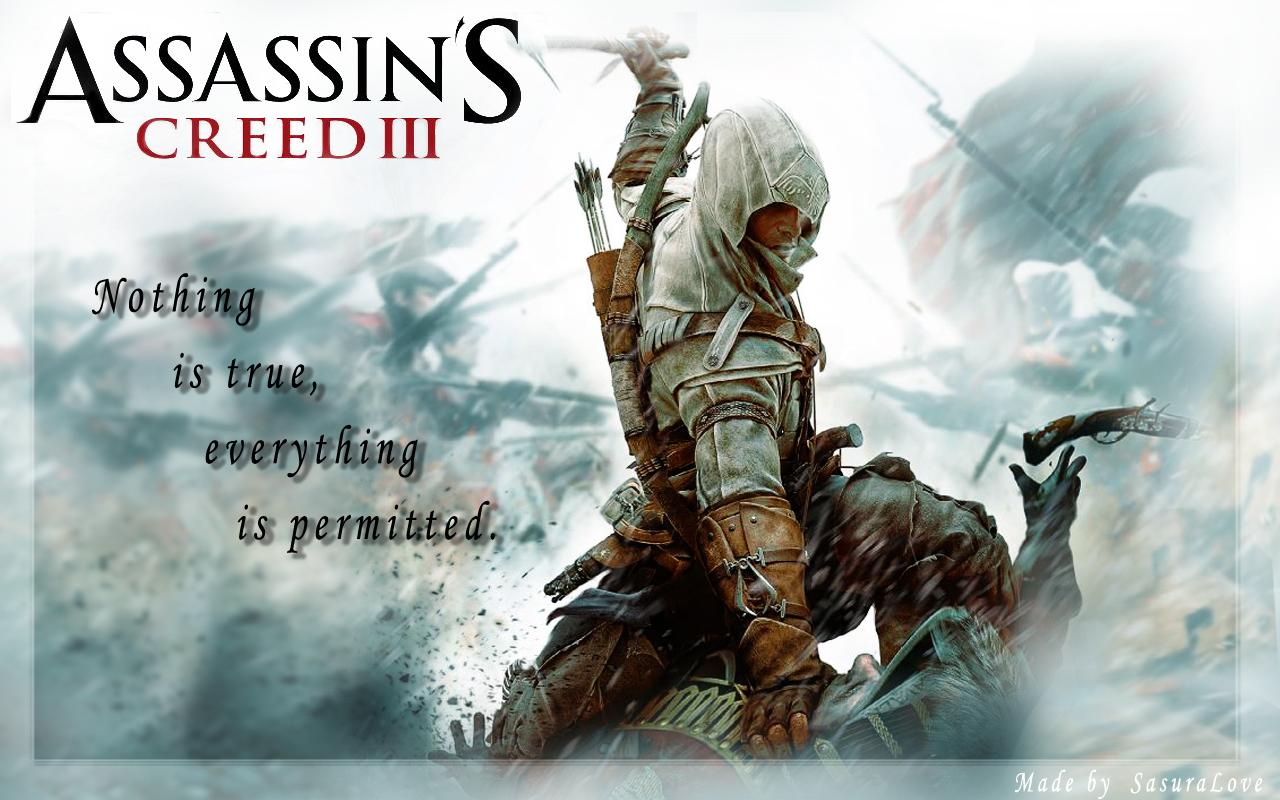 Assassin S Creed 3 Wallpaper By Sasuralove On Deviantart