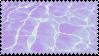 Purple Pool Water Stamp by PrismsFairies