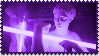 Purple Aesthetic Statue Stamp
