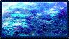 Blue Star Glitter Stamp by PrismsFairies