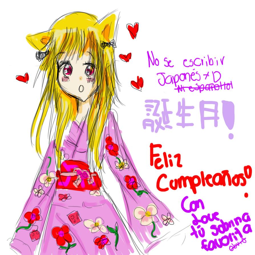 ¡Buon Cumpleanno, M o k o n a! Tonjobi_omedeto__mokona_by_hiranolove-d5bg2xf