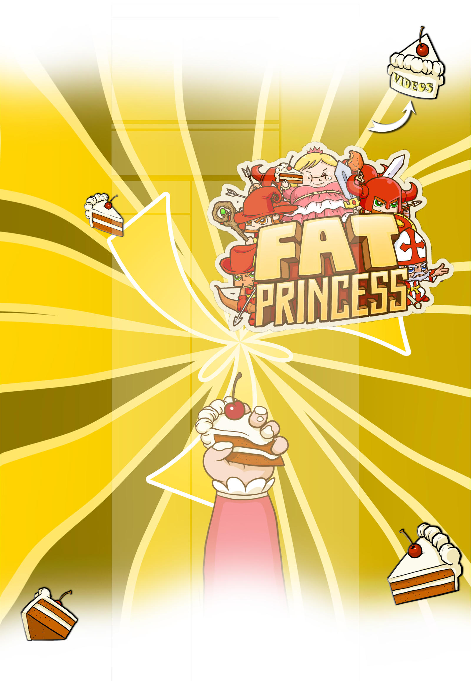FREE YT Layout +Fat Princess+ by TifaFFun