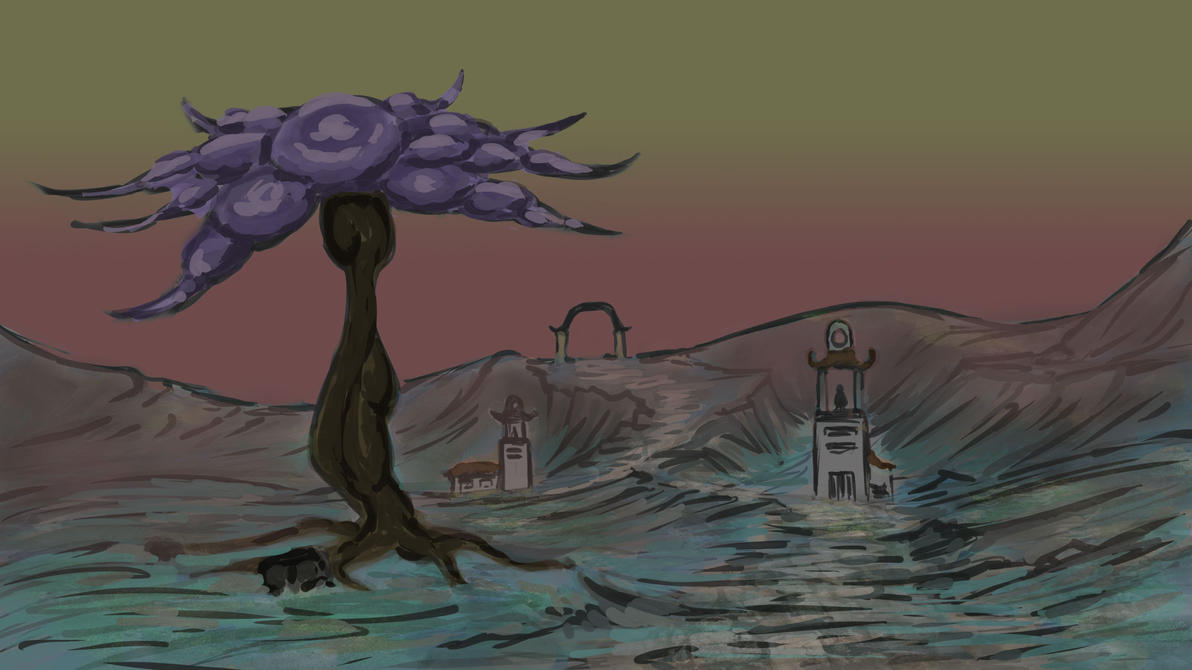 Alien Plant 02 by Maestro-Eduardo