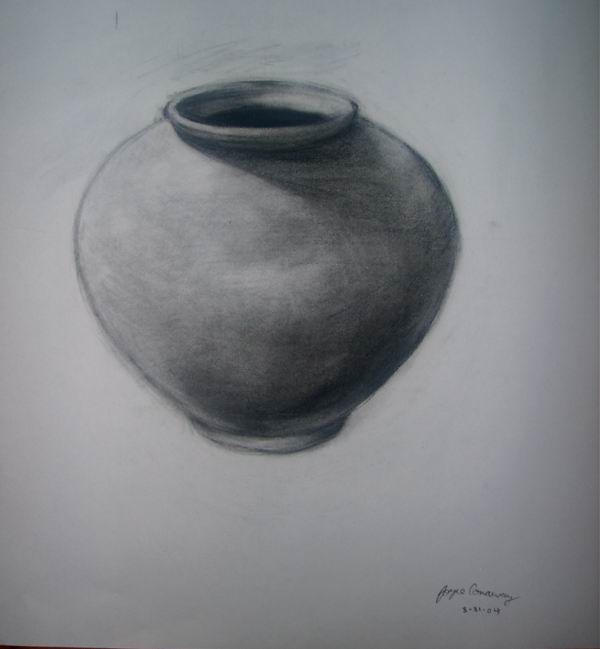 Image Gallery Shaded Vase