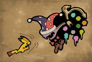 Pikachu VS Marx - Quarter-Final #3 by Fosilly