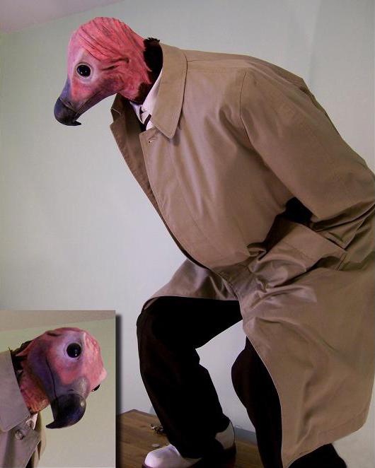 Vulture Man by BrainFarmer