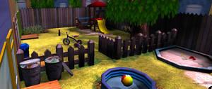 M M game scene 1