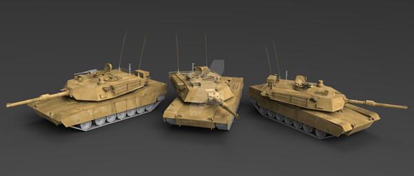 tank render by HigueraStudios
