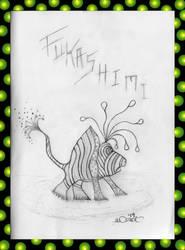 Frog Fukashimi (rough sketch)
