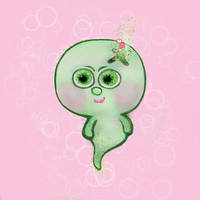 Boo Boo Baby greenie