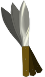 BoD Throwing Knives Starter by Oseike