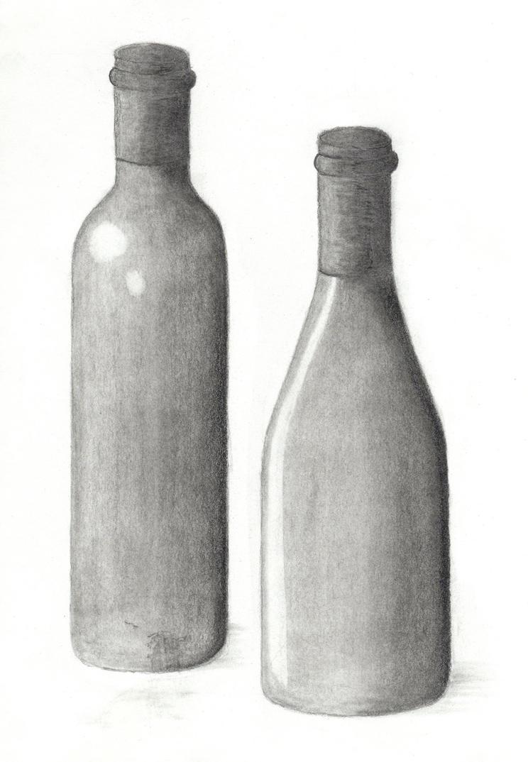 Drawing 101 - Wine Bottle 3 by xycolsen on DeviantArt