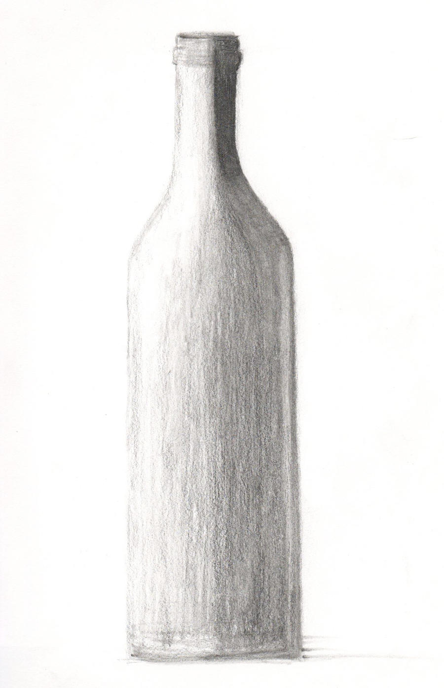 Drawing 101 - Wine Bottle 1 by xycolsen on DeviantArt