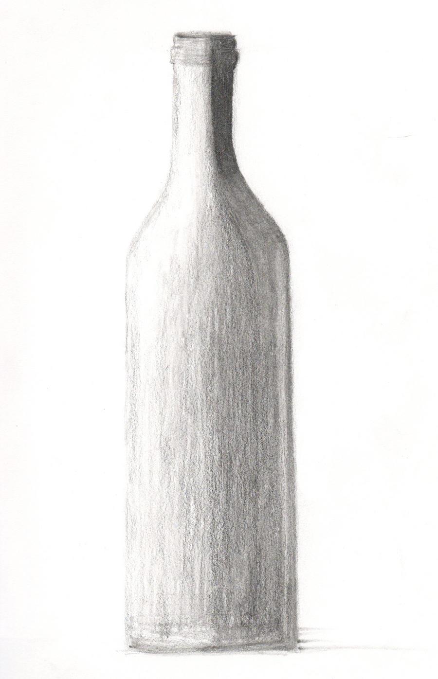 Drawing 101 - Wine Bottle 1 by xycolsen on DeviantArt