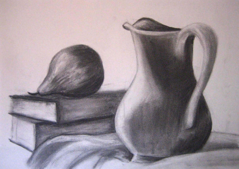 Drawing 101 still life by xycolsen
