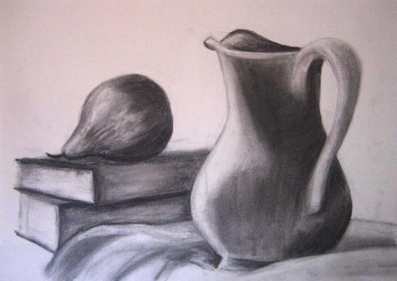 Scribble Drawing Still Life : Drawing still life by xycolsen on deviantart