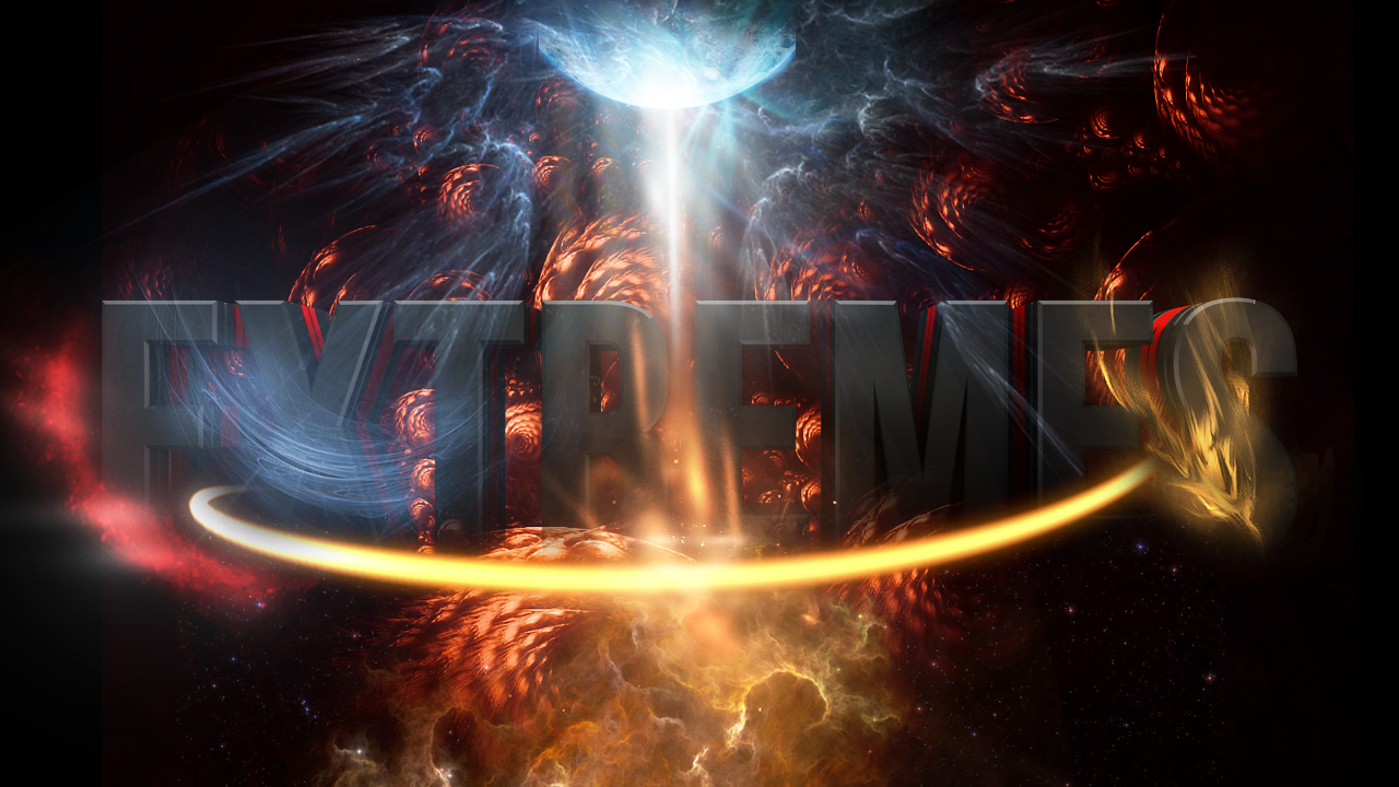Fire Vs Ice wallpaper template [PSD] by EXtreme-S on ...