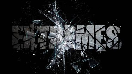 Glass shatter wallpaper