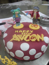 AVCon Cake by lifeisateenagecircus