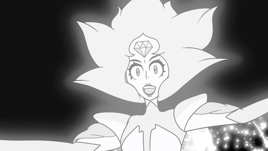 I finally caved in and joined the White Diamond bandwagon. This is actually gonna be the last Steven Universe redraw I do for a while. I would put the small vent I have about the whole thing here, ...
