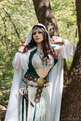 dnd druidess 2 by fel0ra