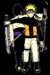 Sasuke et Naruto by Konoko90