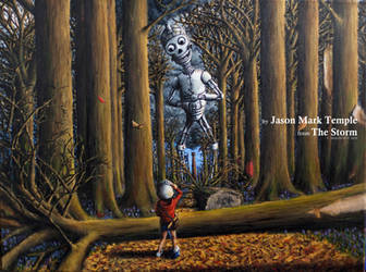 Sam and The Monster - A scene from The Storm
