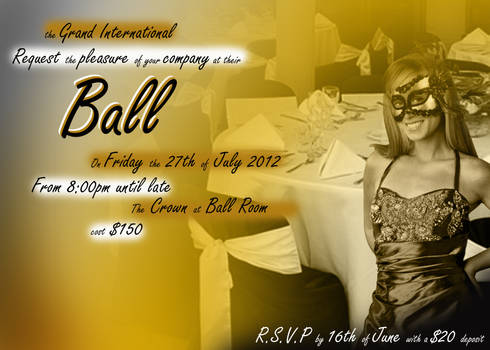 welcom to the ball