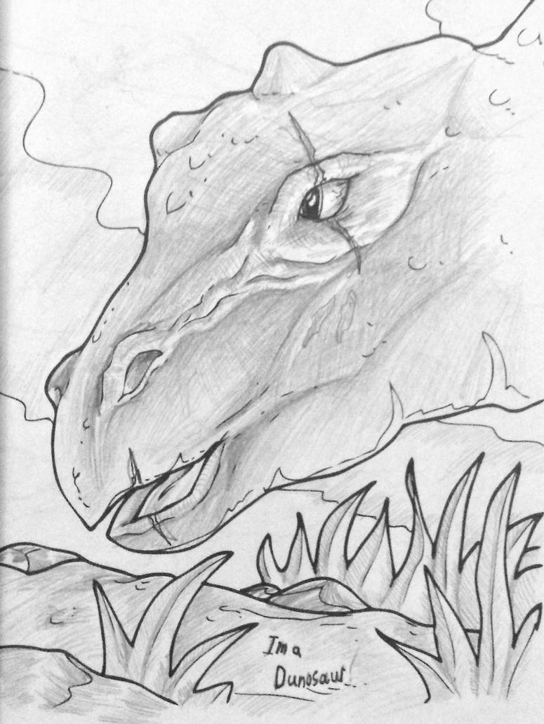 dinosaur coloring book shading by midstofskyhaven on deviantart