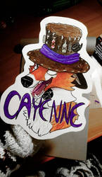 Cayenne badge by Shenree