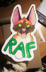 Raf badge by Shenree