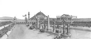 Hippodrome of Constantinople -Fidem et Circenses by Ediacar