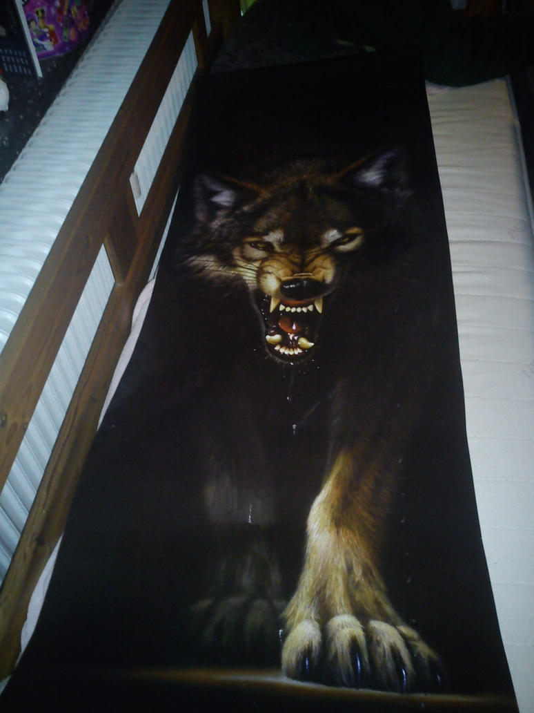 wolf door poster by daylover1313 ... & wolf door poster by daylover1313 on DeviantArt