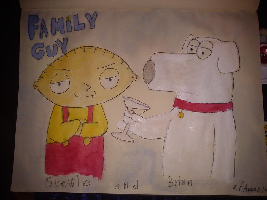stewie and brian by daylover1313