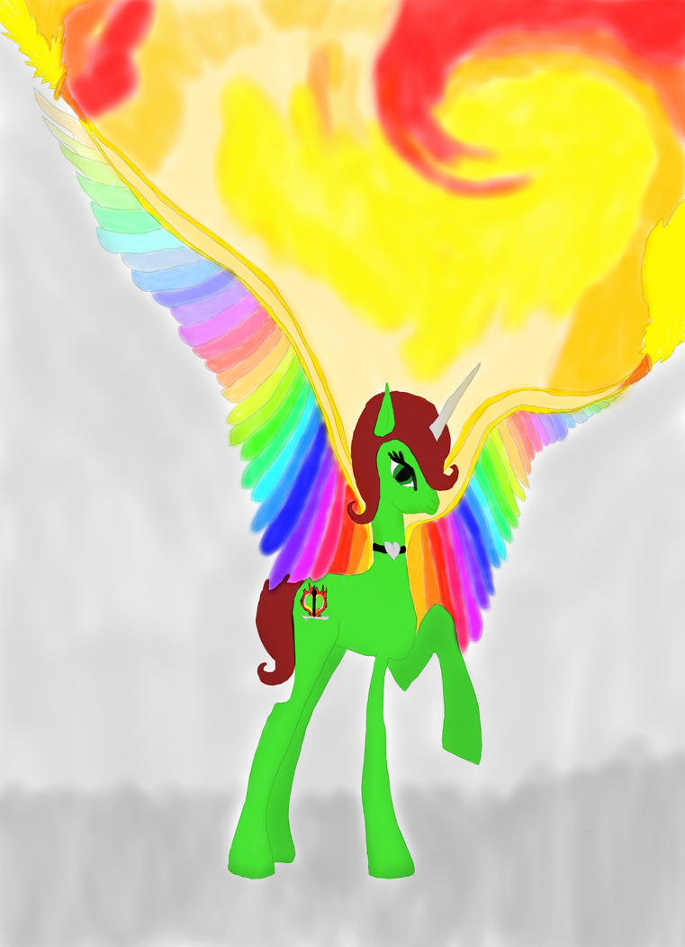 my oc wings on fire by daylover1313