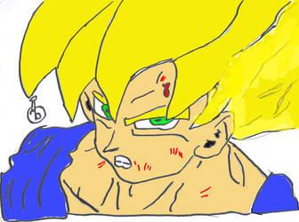 Now you made Goku mad...